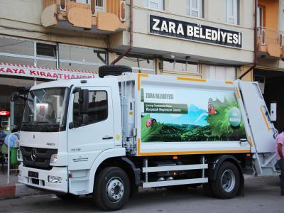 Zara Belediyesi Projelerinden Görüntüler