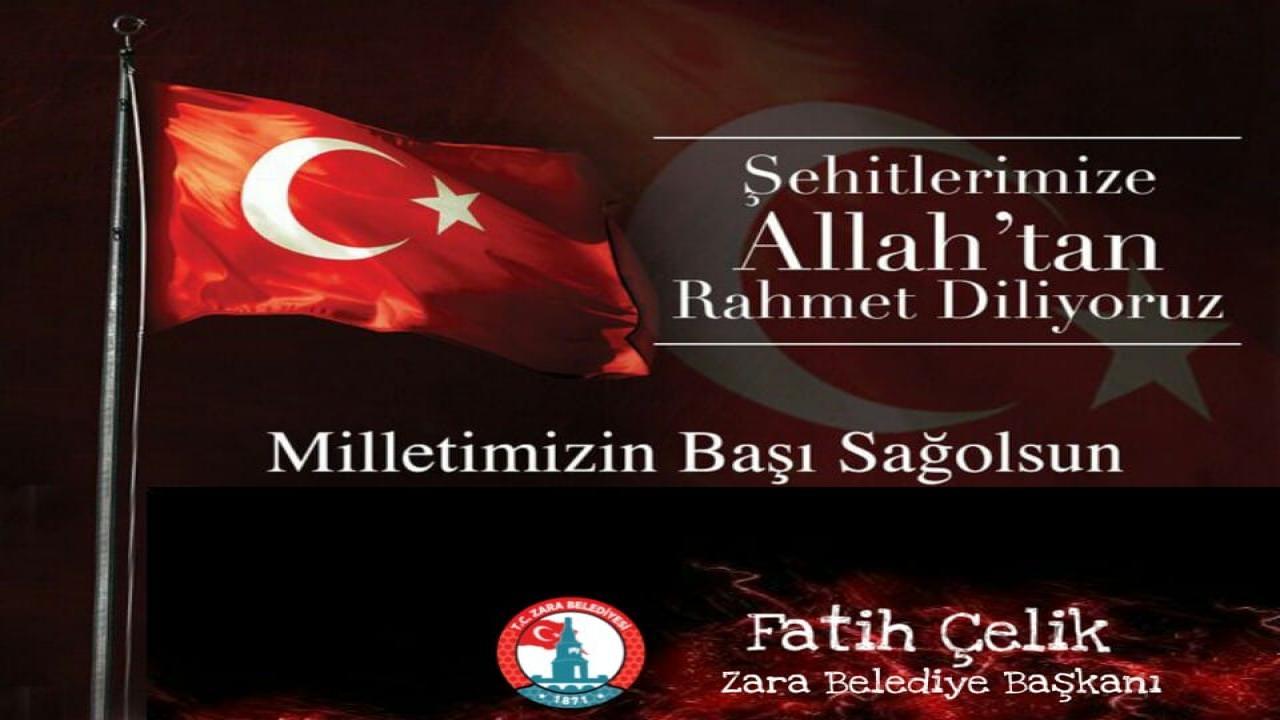Türk Milleti'nin Başı Sağolsun!