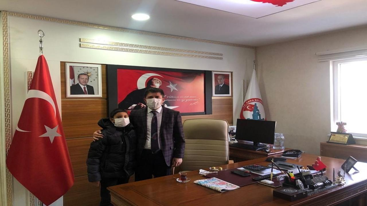 Genç Kardeşimizden Başkan Çelik'e Ziyaret