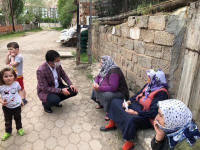 Başkan Çelik'ten Karşıyaka Mahallesine Ziyaret