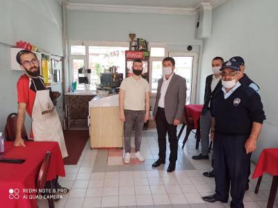 Belediye Başkanımız Fatih Çelik'ten Kıraathane ve Çay Ocaklarına Ziyaret