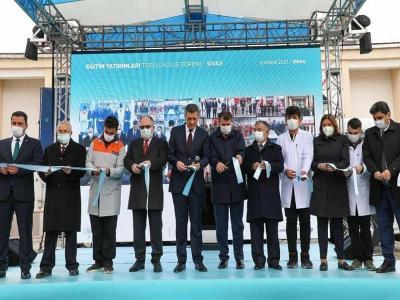 Gazi İlkokulumuzun Açılış Töreni