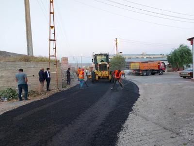 Sanayi Bölgemizde Temizlik ve Yol Yapım Çalışmaları