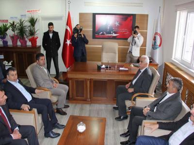 Başkan Fatih Çelik'e İlk Ziyaret Gerçekleşti