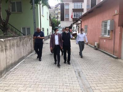 Başkan Çelik Mahalle Ziyaretlerine Ara Vermeden Devam Ediyor