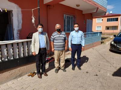 Belediye Başkanımız Fatih Çelik ve İl Genel Meclis üyemiz Hakan Eser'den Köylerimize Ziyaret