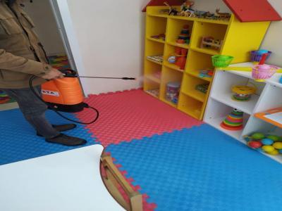 Zara Belediyesi Özel Eğitim ve Rehabilitasyon Merkezi Dezenfekte Çalışmaları