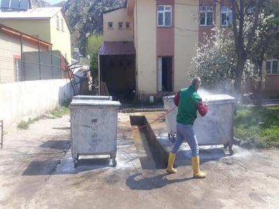 Çöp Koyternerleri Bakım ve Onarım Çalışmaları