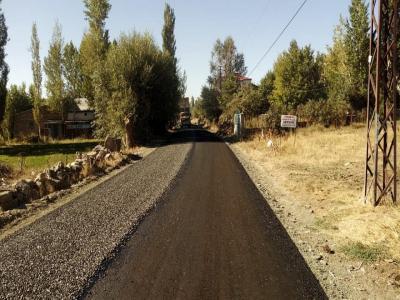 Ahmet Başyurt Mahallesi Yol Yapım Çalışmaları