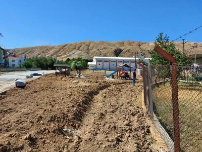 Ahmet Başyurt Mahallesinde Çocuk Oyun Parkı ve Aile Oturma Alanı Yapım Çalışmaları