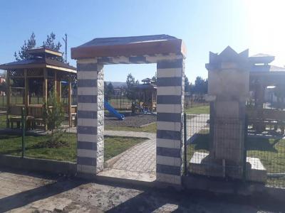 Ahmet Başyurt Mahalle Parkında Ağaçlandırma Çalışması
