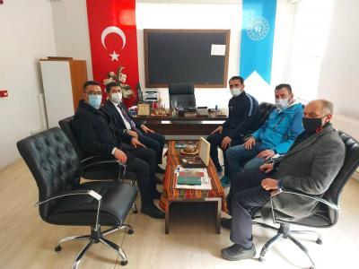 Belediye Başkanımız Fatih Çelik'ten Zaraspora Ziyaret
