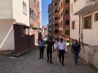 Başkan Çelik Mahalle Ziyaretlerine Devam Ediyor