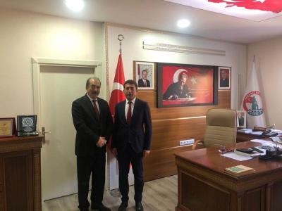 Kubilay Dökmetaş'dan Başkan Çelik'i ziyaret